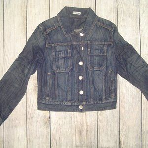 Express Dark Wash Denim Jacket S